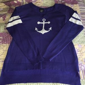 Rue 21 anchor sweater